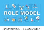 role model word concepts banner....