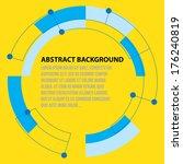 circle design background | Shutterstock .eps vector #176240819