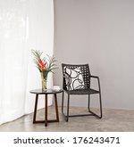 garden furniture chair in... | Shutterstock . vector #176243471