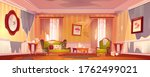 old dirty victorian living room ... | Shutterstock .eps vector #1762499021