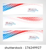 united states of america in... | Shutterstock .eps vector #176249927