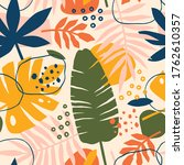 abstract modern tropical...   Shutterstock .eps vector #1762610357