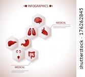 medical health care background. | Shutterstock .eps vector #176262845