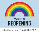 we re reopening  museums ... | Shutterstock .eps vector #1762688717