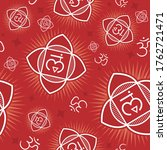 seamless repeat pattern with... | Shutterstock .eps vector #1762721471