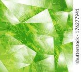 abstract grunge tech vector... | Shutterstock .eps vector #176277941
