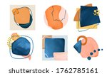 hand made abstract composition. ... | Shutterstock .eps vector #1762785161
