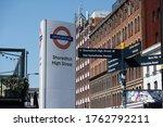 London  June  2020  Shoreditch...