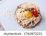 Carbonara Paste. Spaghetti With ...