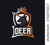 e sports team logo template... | Shutterstock .eps vector #1762873217