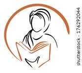 education icon | Shutterstock .eps vector #176292044