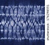 material dyed batik. shibori | Shutterstock . vector #176298551