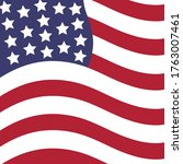 fourth of july independence day ... | Shutterstock .eps vector #1763007461