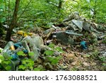 Garbage Dump In The Forest...