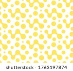 continuous white graphic... | Shutterstock .eps vector #1763197874