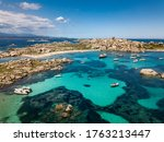 The Lavezzi Island Viewed From...
