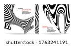 brochure template wave with... | Shutterstock .eps vector #1763241191