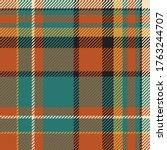 tartan scotland seamless plaid... | Shutterstock .eps vector #1763244707