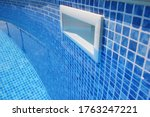 Drain Hole In The Pool With...