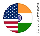 round icon with united states... | Shutterstock .eps vector #1763310851