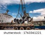 Cargo Shipment Of Steel Coil...