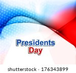 president day in united states... | Shutterstock .eps vector #176343899