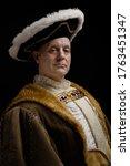 Portrait Of King Henry Viii In...