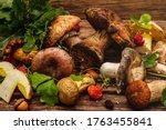 Fresh Forest Mushrooms....