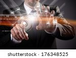 modern wireless technology and... | Shutterstock . vector #176348525