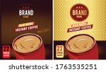 instant coffee . vector... | Shutterstock .eps vector #1763535251