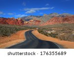 road to red rock canyon...