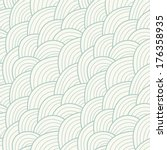 seamless pattern with hand... | Shutterstock .eps vector #176358935