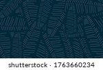 tropical banana leaf wallpaper  ...   Shutterstock .eps vector #1763660234