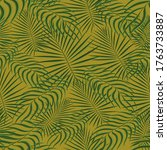 exotic tropic pattern. tropical ... | Shutterstock .eps vector #1763733887