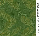 exotic tropic pattern. tropical ... | Shutterstock .eps vector #1763735387