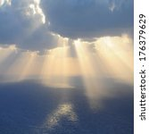 Clouds And Rays Of Sun Above...