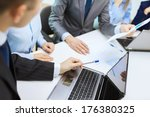 business and office concept  ... | Shutterstock . vector #176380325