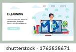 online education  home... | Shutterstock .eps vector #1763838671