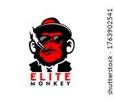 Monkey Logo Sports Gaming ...