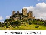 almodovar del rio  cordoba... | Shutterstock . vector #176395034