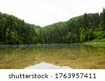 The Lake In A Heart Of Forest