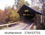 The Goldbrook Covered Bridge In ...