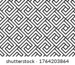 the geometric pattern with...   Shutterstock . vector #1764203864