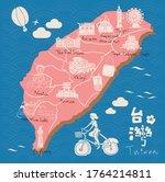 Taiwan Travel Map Symbols...