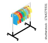colorful t shirt  with price...   Shutterstock .eps vector #1764275531