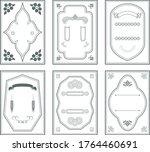 frame decorative frame... | Shutterstock .eps vector #1764460691