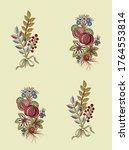 digital flowers design and... | Shutterstock .eps vector #1764553814