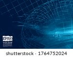 technology concept background...   Shutterstock .eps vector #1764752024