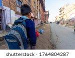 Kathmandu  Nepal   Circa 2020 ...
