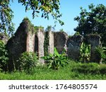 Dilapidated Stone Structure...